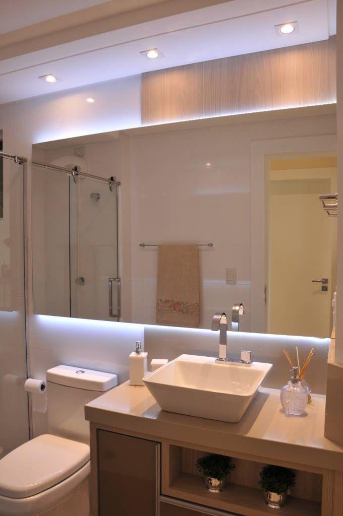 Banho Social Por Luizana Wiggers Projetos Moderno Banheiro De
