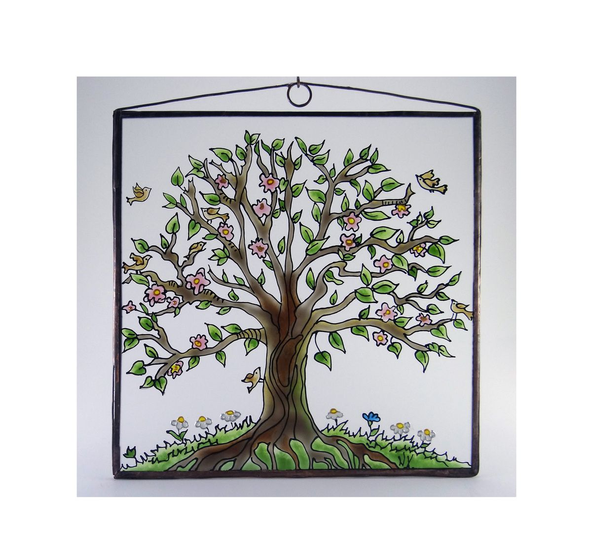 KorinArt Glass painting Tree of Life