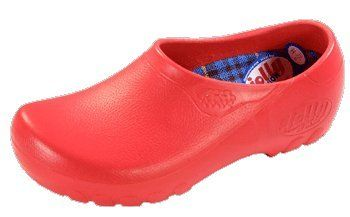 5393fe317f69e3 Alpro Clogs  Jolly Fashion  aus PU in rot Größe 39.0 mit normalem Fussbett -