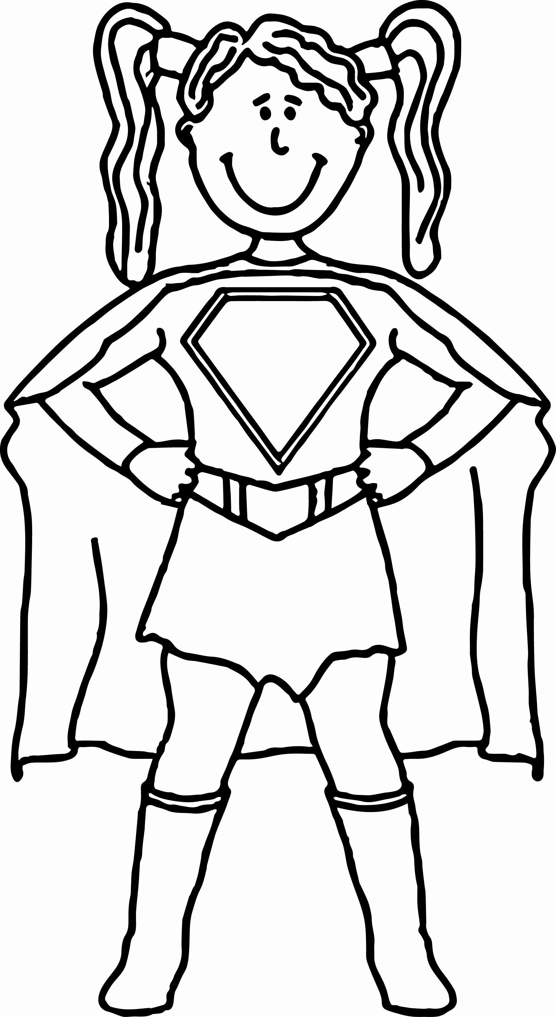 Superhero Coloring Pages for Preschoolers New Superhero ...