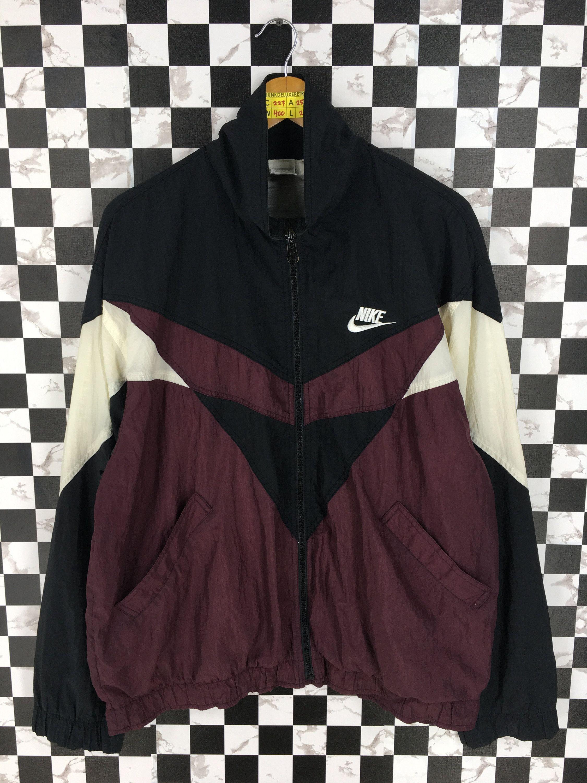 Vintage 1990's NIKE Multicolor Jacket Windbreaker Large Nike