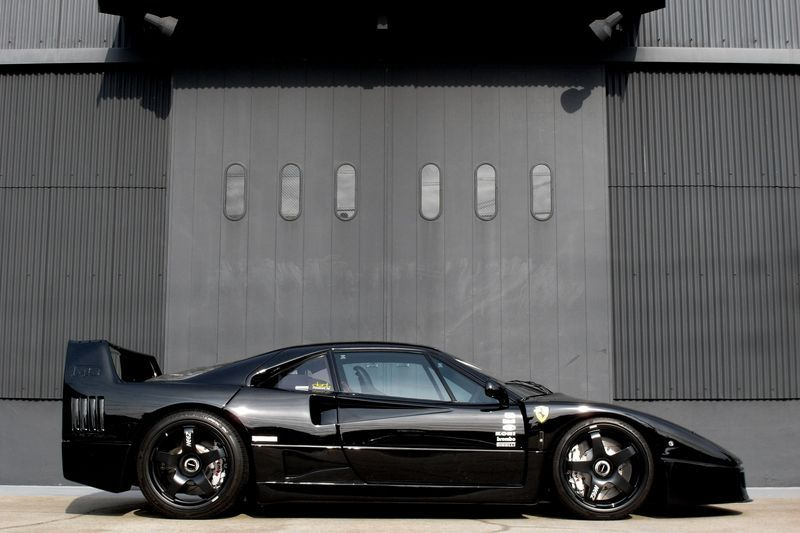 Exotic Euro Cars >> .All black F40 #Ferrari | Ferrari | Ferrari f40, Ferrari, Cars