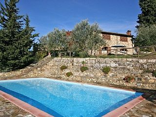 Villa / Farmhouse / Home in Tavarnelle Val Di Pesa with 1 bedrooms sleeps 2Vacation Rental in Panzano in Chianti from @homeaway! #vacation #rental #travel #homeaway
