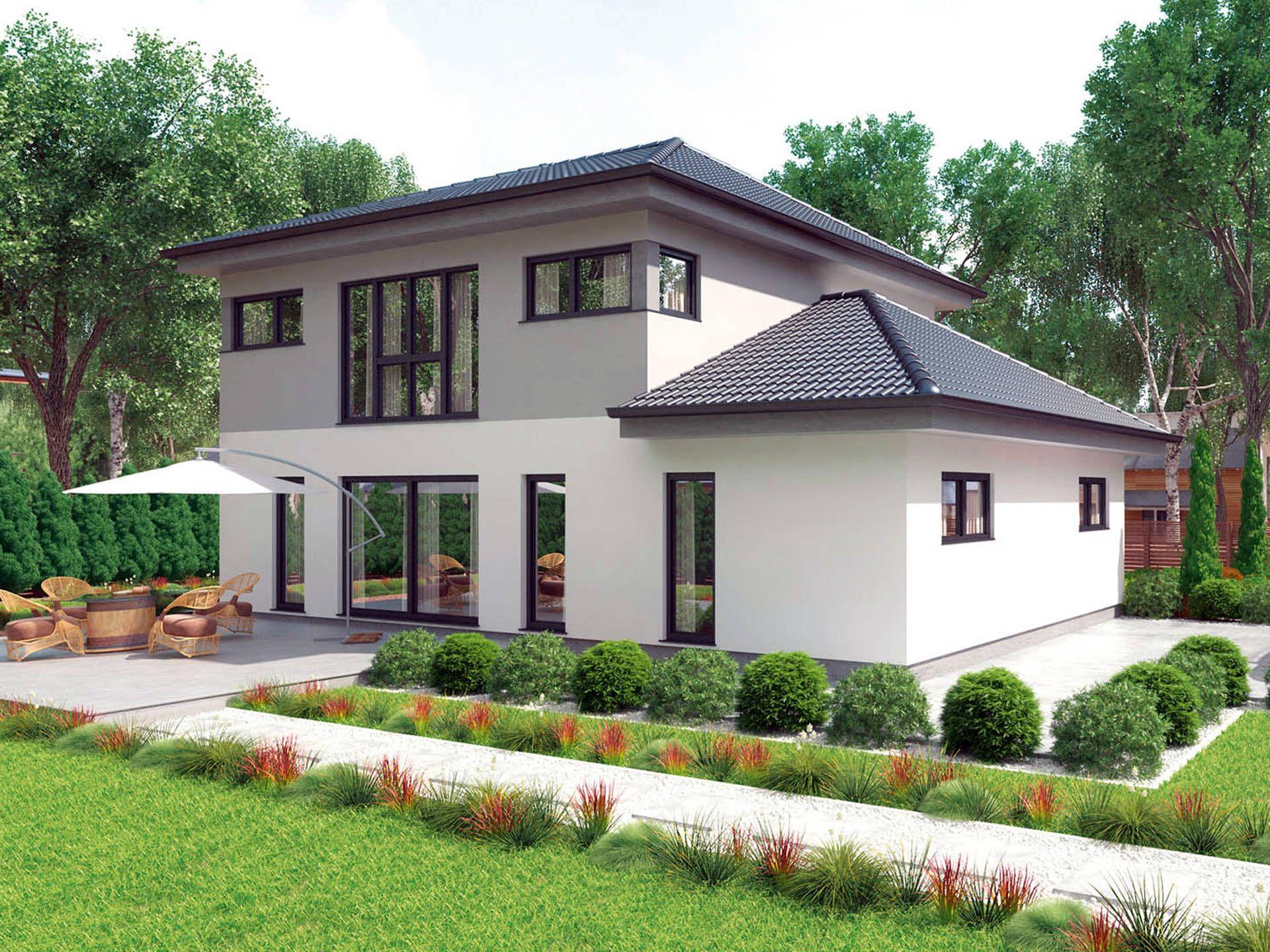 Fertighaus villa grundriss  Typenhaus Comfort 190 W • Mehrgenerationenhaus von HARTL Haus ...