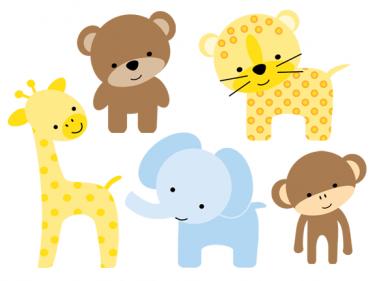 Cute Cartoon Zoo Animals | zoo clip art 16 375×281 ...