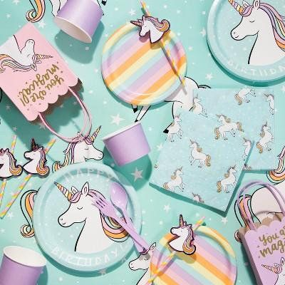 Unicorn Party Childrens Birthday Supplies