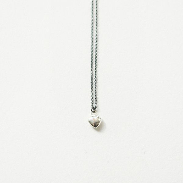 Single Tiny Heart Necklace by Shana Astrachan, $55.