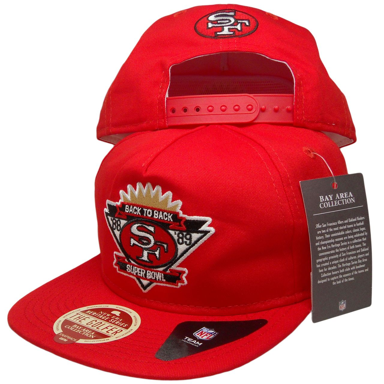 e68c5f95 BAY AREA x NINERS x NEW ERA | S.F. GEAR ET CETERA | Snapback hats ...
