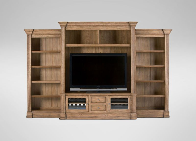 Traveller 4 Piece Media Center Ethan Allen