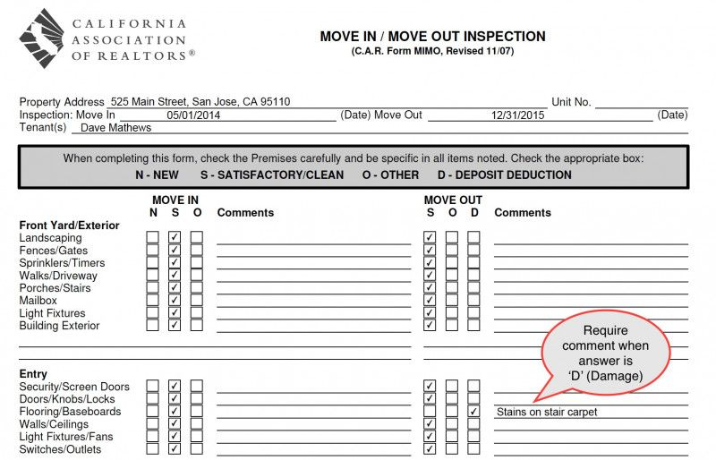 Commercial Property Inspection Report Template New Ezinspections Sample Inspection Forms Inspection Checklists And