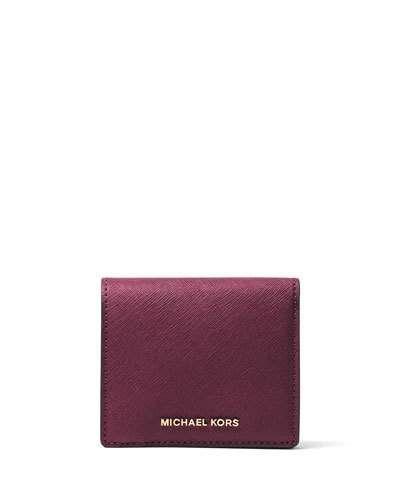 d77ebde4258cf MICHAEL MICHAEL KORS Jet Set Travel Saffiano Carryall Card Case ...