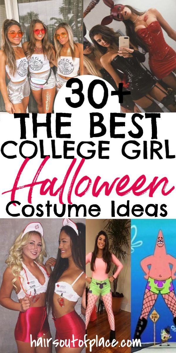 30+ BEST College Halloween Costumes for Girls - Ha