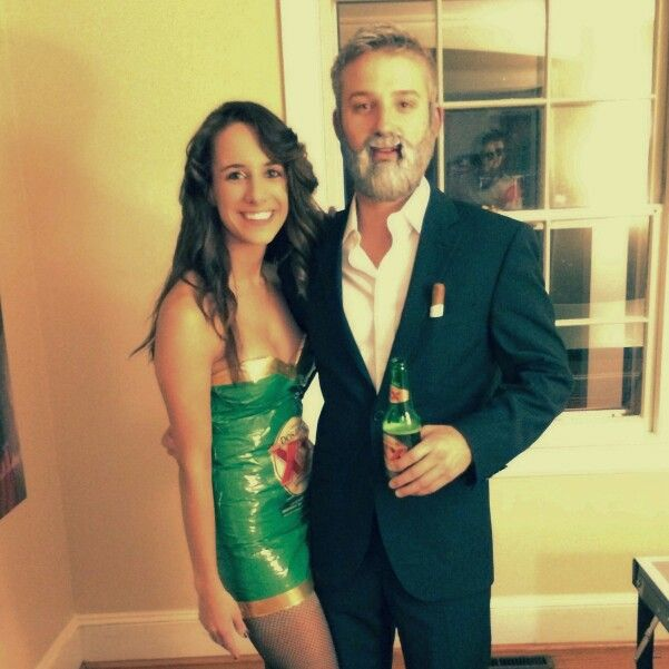 dos equis beer and worlds most interesting man couples costume