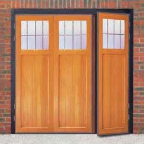 Cardale Futura Ibstock Timber Side Hinged Garage Door | Garage ideas ...
