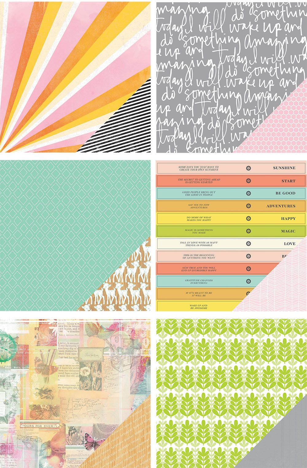 Brighton Pier Collection patterned papers @studio_calico