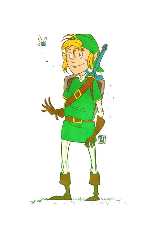 Legen of Zelda by teeketch@tumblr