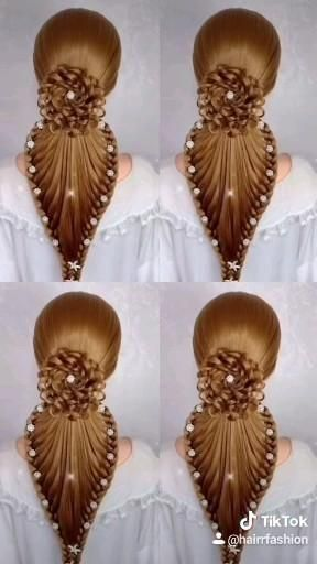 Hairstyle tutorial 117-FOLLOW FOR MORE💋💋 Daily Upd