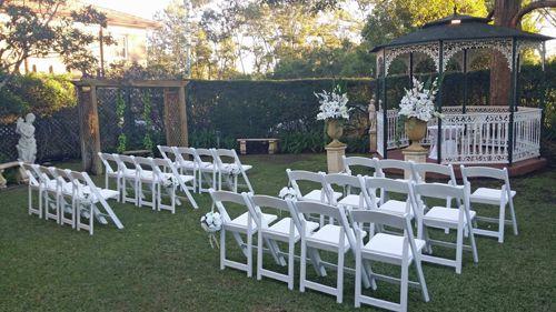 Garden Wedding Venues Western Sydney Cropley House Siobhans