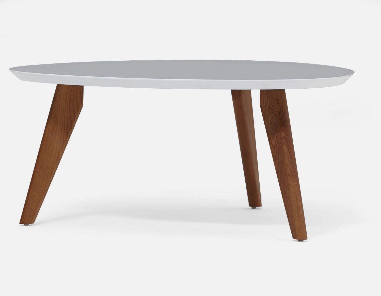Table Basse 90cm Blanc Osaka Structube Table De Salon Table