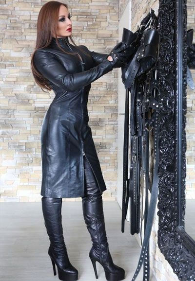 leatherfemdom:  Lady Justizia (Germany)
