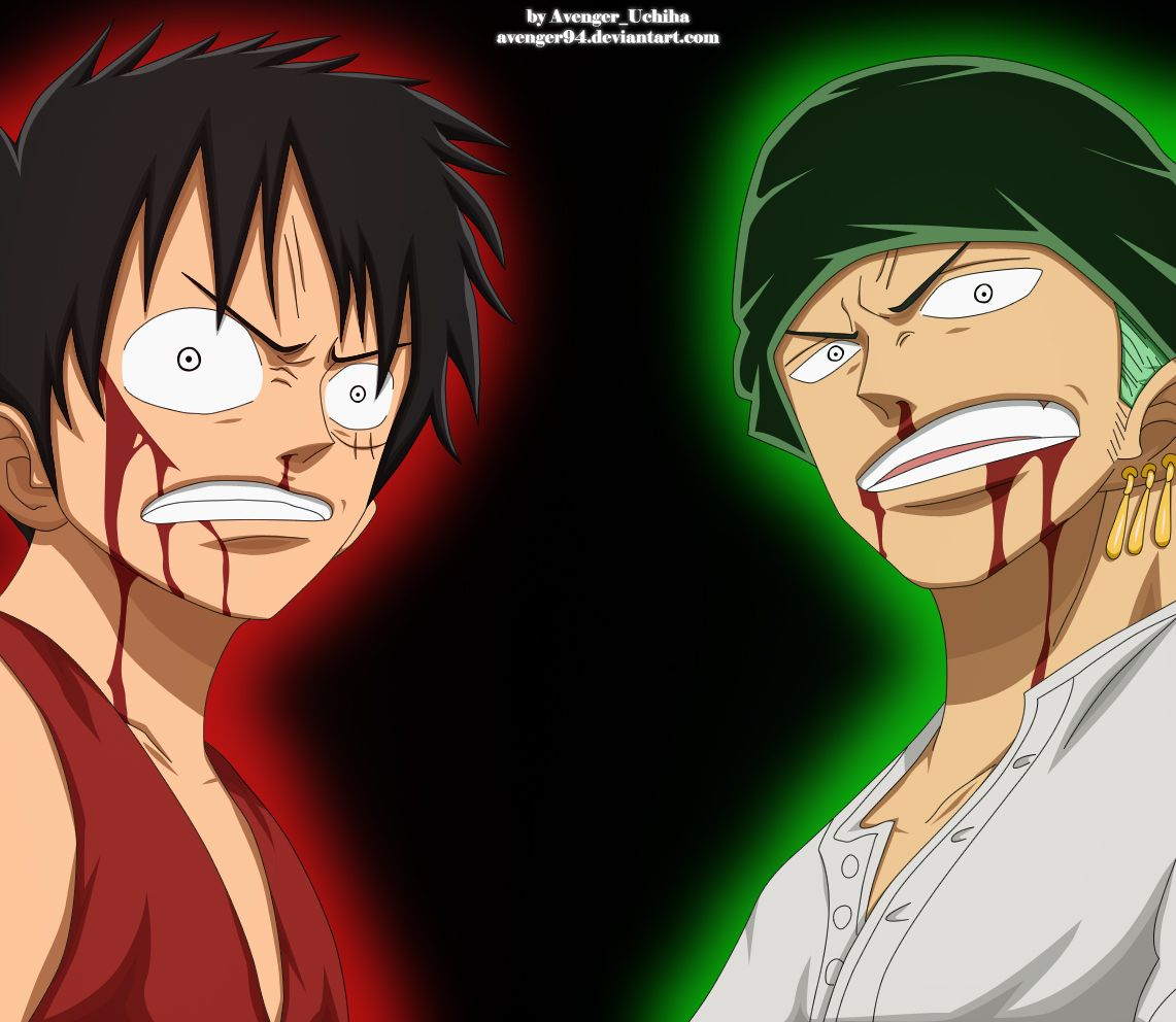 Luffy And Zoro Badass