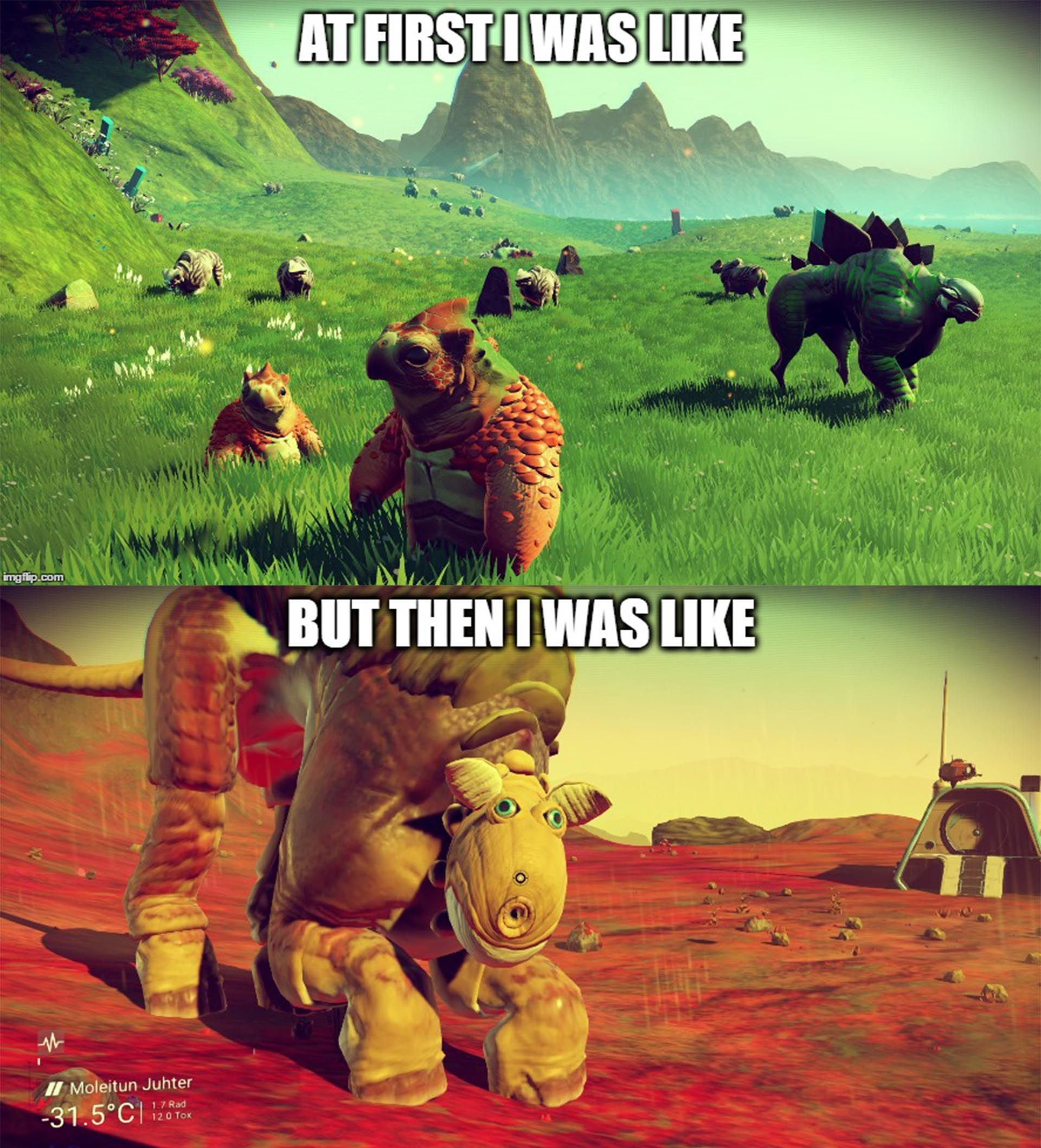No Man's Sky Then and Now #gaming #games #gamer #videogames #videogame  #anime #video #Funny #xbox #nintendo #TVGM #surprise | No man's sky, Sky,  Man