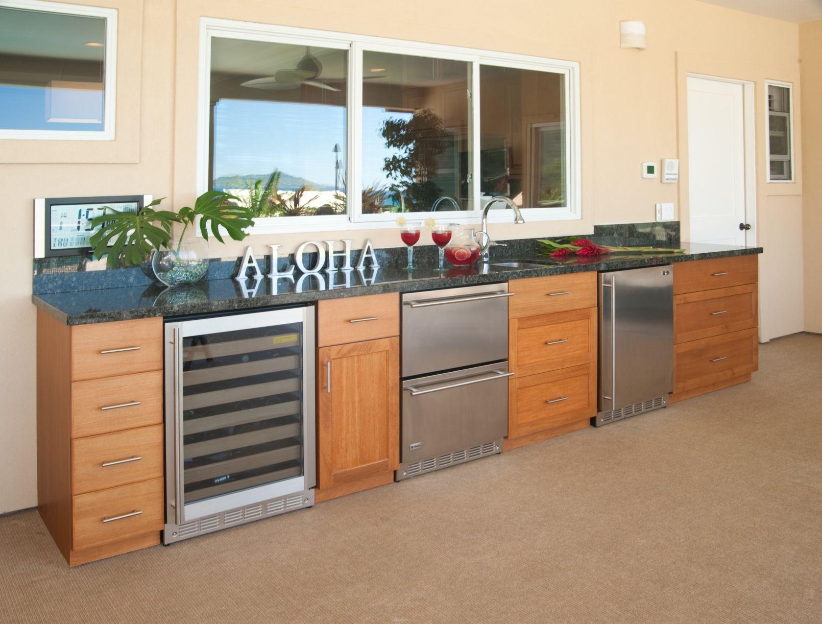 Outdoor Kitchen - Design Archipelago Hawaii Luxury