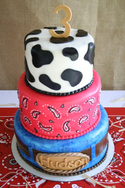 Cowboy Birthday Cakes On Pinterest Western Birthday
