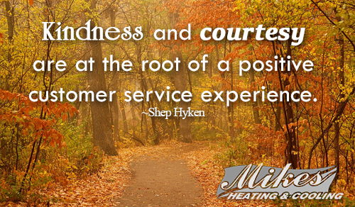 Kindness And Courtesy Are At The Root Of A Positive Customer