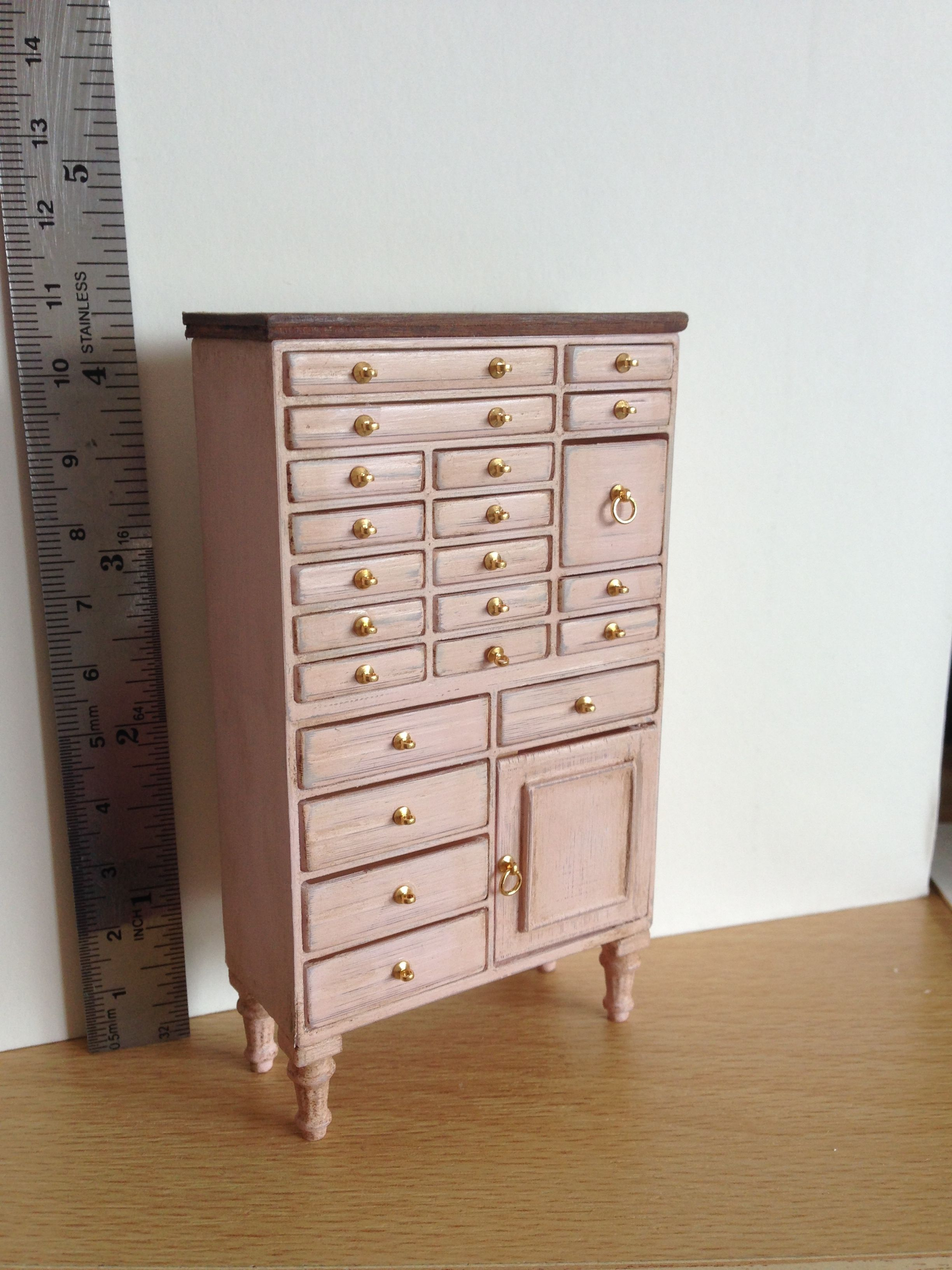 Lots And Lots Of Tiny Drawers To Fill With The Finest Lingerie Or Maybe  Sewing Haberdashery