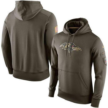 reputable site 35b0e 58cbb Baltimore Ravens Military Hoodie, Salute to Service Tee ...