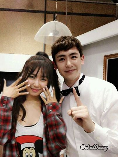 Are nichkhun and tiffany dating