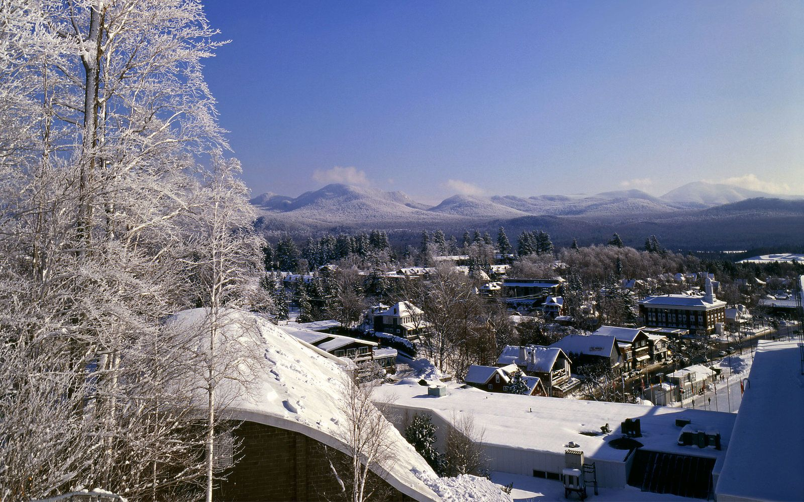New Yorks Best Winter Getaways  Winter weekend getaways