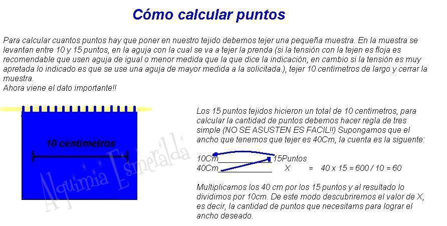 Cómo calcular puntos Regla de tres simple para hacer cálculos de ...