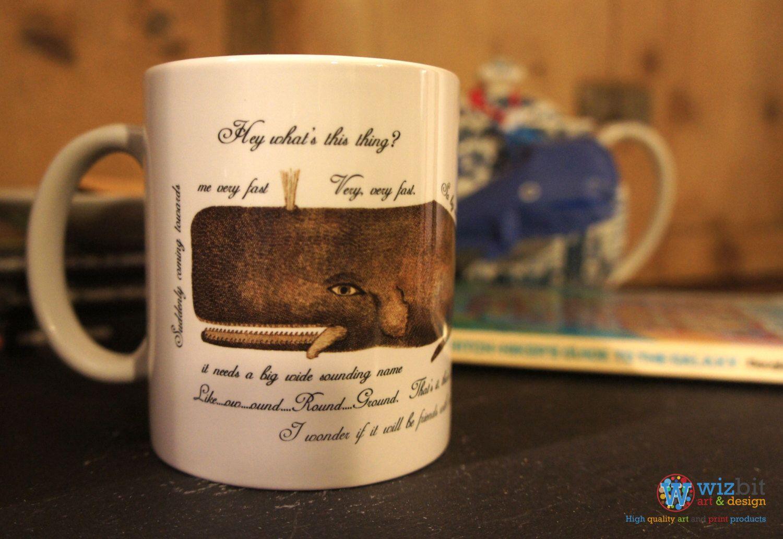 11oz mug The Hitchhiker/'s Guide...