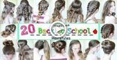 School Hairstyles 20 Back to School Heatless Hairstyles School hairstyle #Haa …