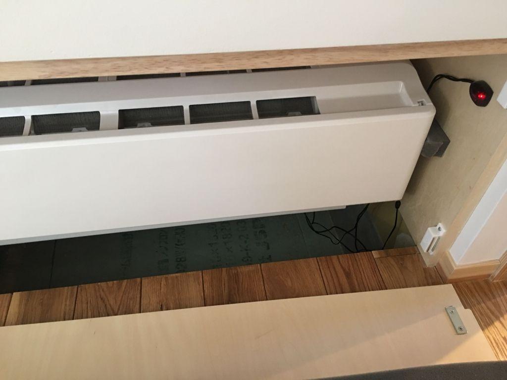 床下エアコンの実力 床下 部屋 デザイン リビング 部屋