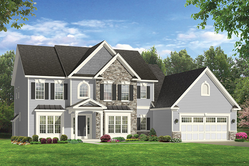 Colonial Style House Plan 4 Beds 2 5 Baths 3017 Sq Ft Plan 1010 169 Colonial House Plans Colonial Style Homes House Plans