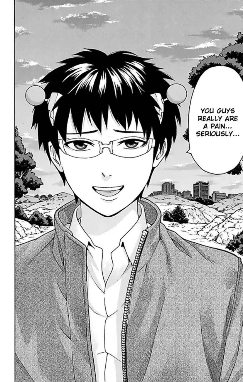 Saiki K Manga Read Online