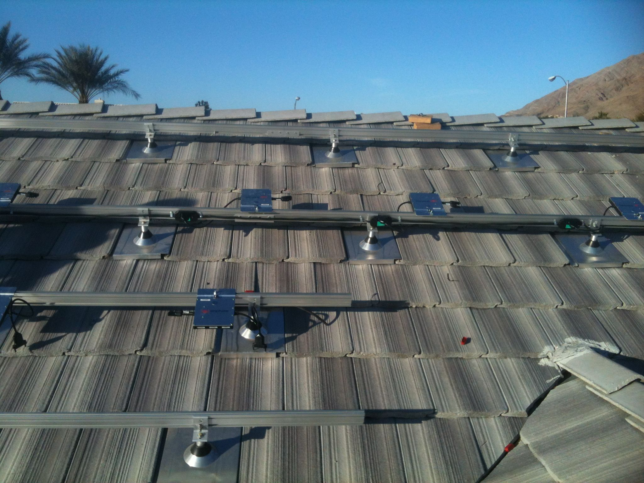 Solar Panels Can Be Installed On Any Roofing Type We Just Order The Right Kind Of Tile Hooks Or Shingle Racking Roof Shingles Types Roof Design Roof Shingles