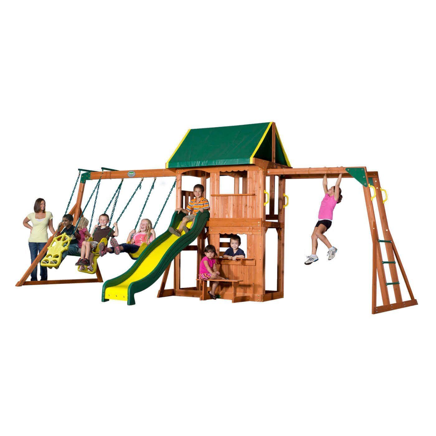 prairie ridge wooden swing set wooden swings
