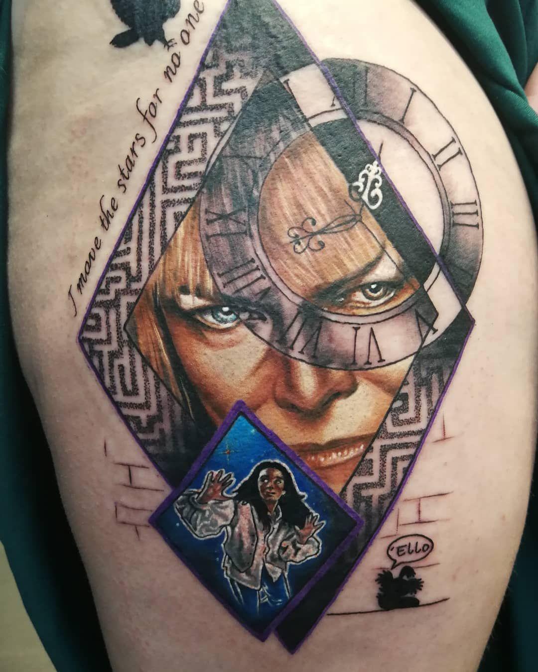 Labyrinth Movie Tattoo Ideas In 2020 Labyrinth Tattoo Labrynth Tattoo Movie Tattoo