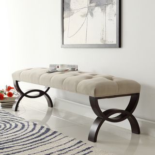 the yakiya bench with exquisite details gives the room a