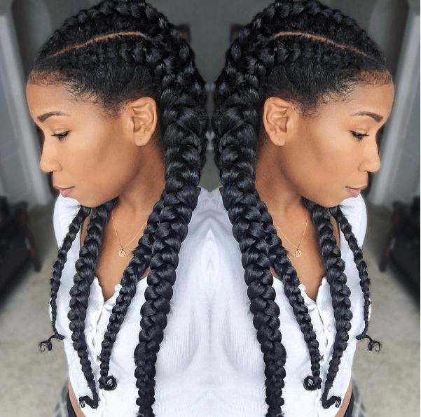 How To Cornrow Braid For Beginners Natural Hair Styles Hair