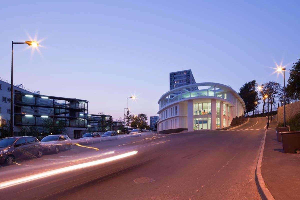 © 11h45 / Centre culturel et social, Bagneux (92) - Epicuria Architectes