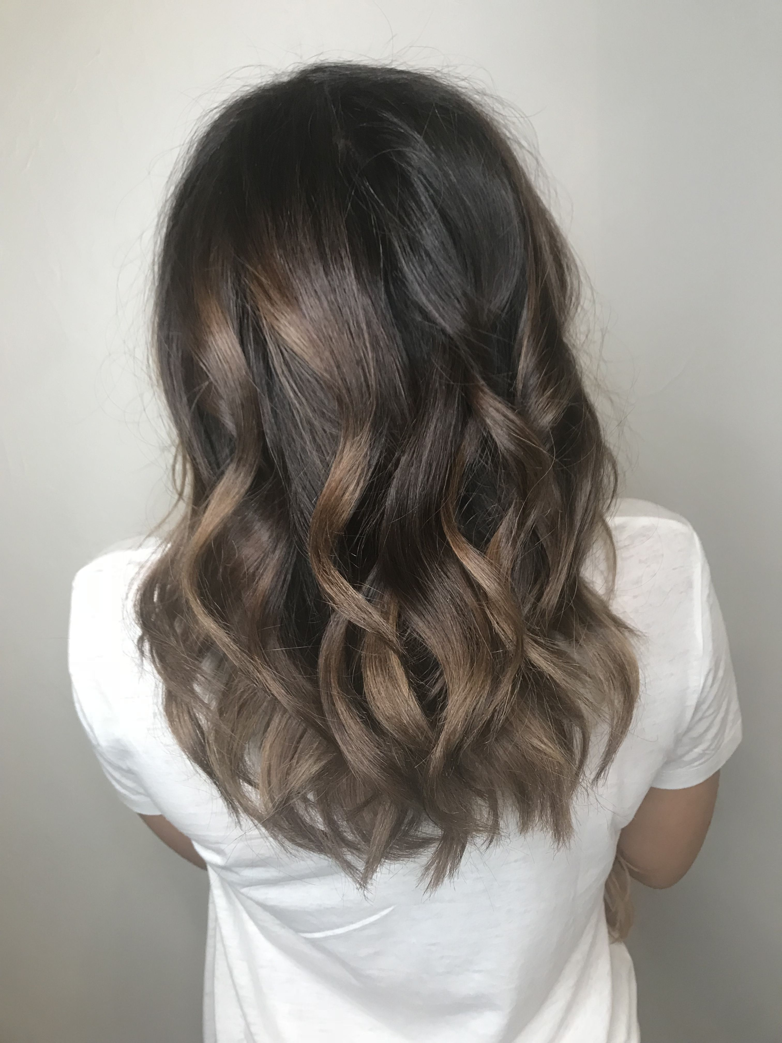 Beautiful Rich Brunette Color Done At Zoya Salon In Addison Texas Color 972 930 9953 Neutral Ringette Cool Bru Brunette Color Rich Brunette Medium Ombre Hair