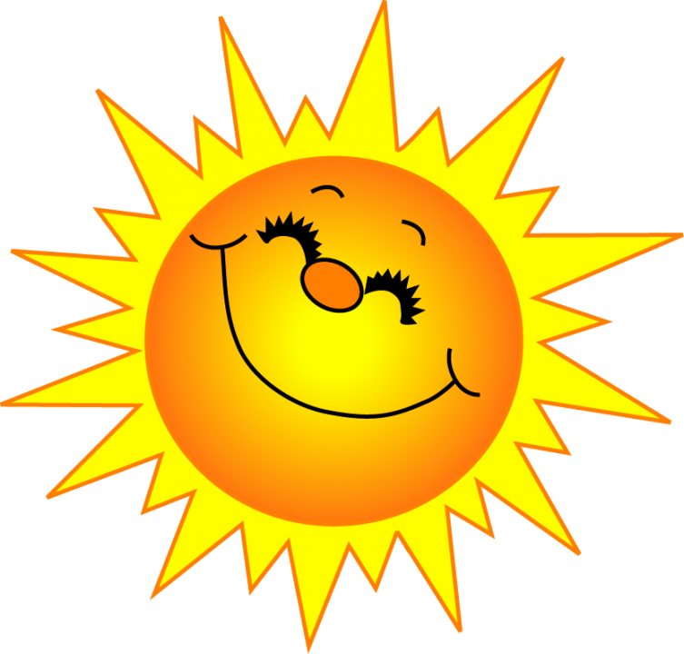 Sunshine sun clipart black and white free clipart images (With ...