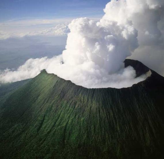 Monte Nyiragongo | Volcanes, Lugares increibles y Maravillas naturales