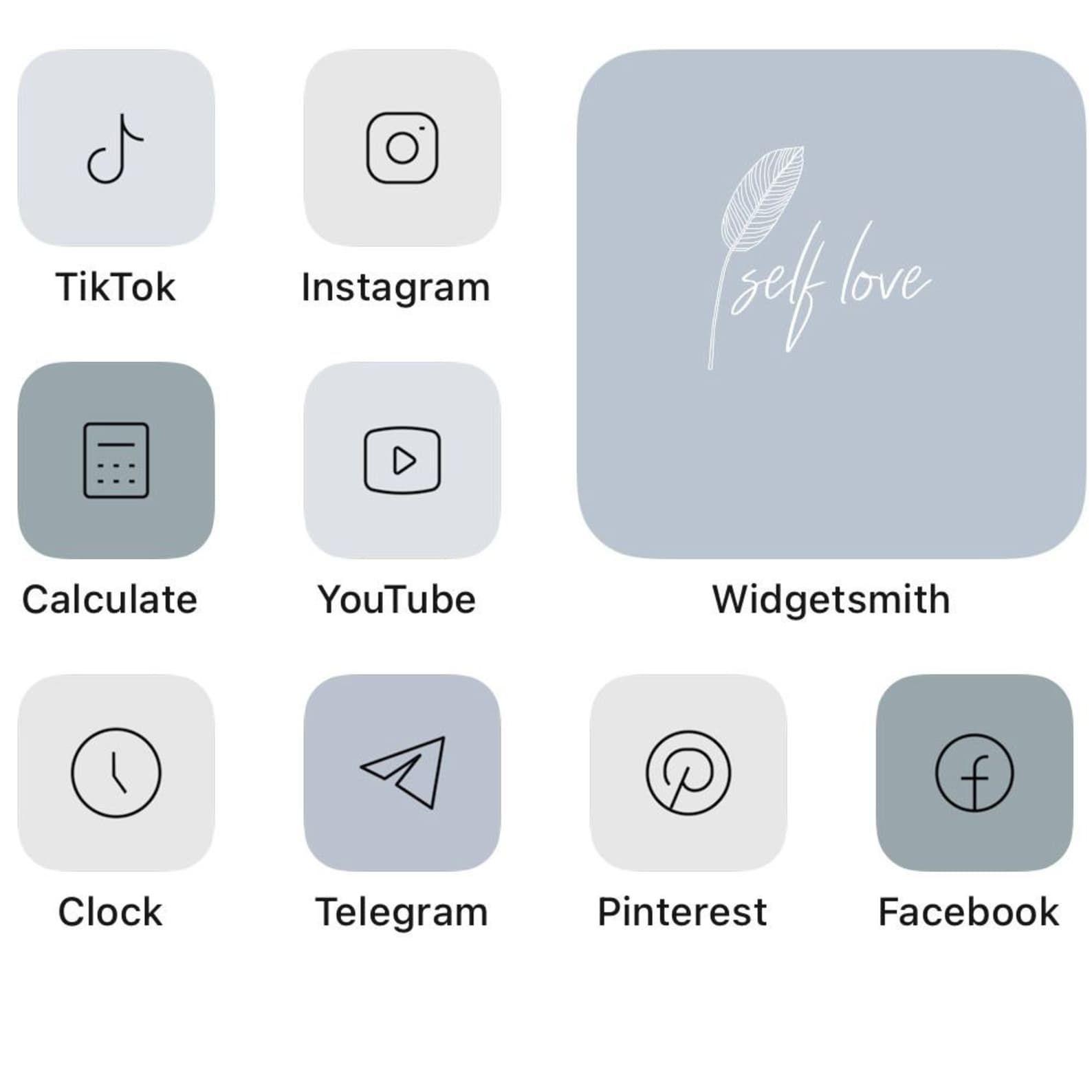 83 Grey Ios 14 App Icons Light Mood Ios14 Widget Cover Widgetsmith Aesthetic Minimal Pack Iphone Apple Icons Set Shortcut Aesthetic Grey In 2021 App Icon Apple Icon App