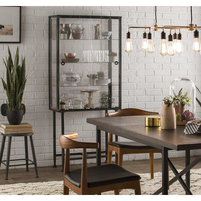 Trent Austin Design Blazyk Curio Cabinet Wall Curio